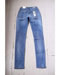 Denham - 24 Hours Blue Slim Fit Jeans - Lyst