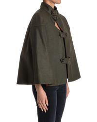 Stella Jean - Rain Cape In Military Green - Lyst