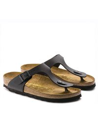 Birkenstock - Gizeh Unisex Leather Sandals - Lyst