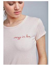 Maison Labiche - Crazy In Love Cotton Tee - Lyst