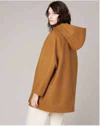 Sessun - Lison Coat In Maple - Lyst
