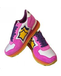 Atlantic Stars - Pink White Trainers - Lyst