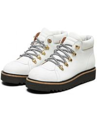 SELECTED - Femme Leather Hiking Boot - Lyst