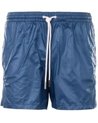 Eleventy - Short Shorts Sea - Lyst
