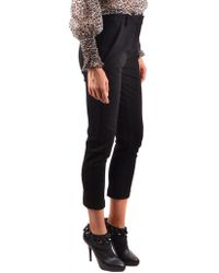 Pinko - Trousers In Black - Lyst