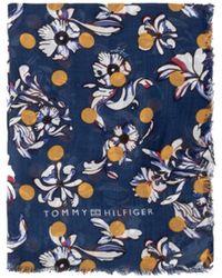 Tommy Hilfiger - Women's Flower Dots Lightweight Scarf - Lyst