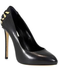 3e5b15926044 Lyst - Marc Jacobs Black Patent Leather Lace-up Pump in Black