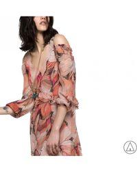 Patrizia Pepe - Printed Dress - Lyst