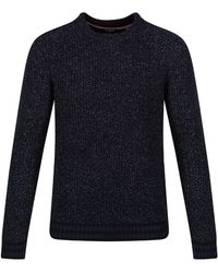 Ted Baker - Men's Teaberry Textured Crew Neck Jumper - Lyst