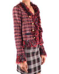 Pinko - Frayed Boucle Jacket - Lyst