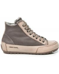 Candice Cooper - Plus Mont Shearling Lined High Top Trainers - Lyst