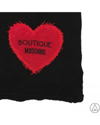 Boutique Moschino - Scarve In Black - Lyst