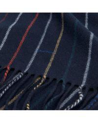 GANT - Striped Lambswool Scarf - Lyst