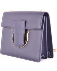 Ferragamo - Cross Body Bag In Purple - Lyst