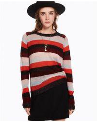 Scotch & Soda - Striped Mohair Pullover - Lyst