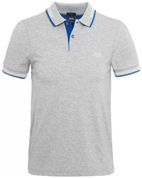 BOSS - Slim Fit Paul Polo Shirt - Lyst