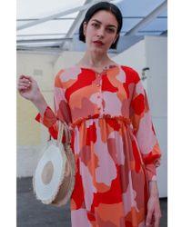 Numph - Darian Print Dress - Lyst