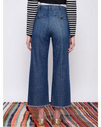 Leon & Harper - Phil Stone Crop Jeans - Lyst