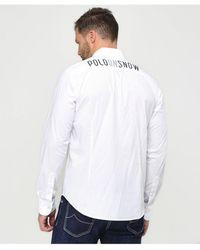 La Martina - Poplin Gervasio Shirt - Lyst