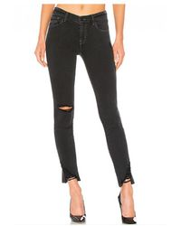 J Brand - 811 Mid Rise Skinny Jeans - Lyst