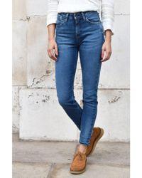 Lee Jeans - Scarlett High Street Indigo Jeans - Lyst