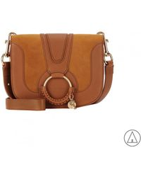 See By Chloé - See By Chloé Hana Small Crossbody Bag In Brown - Lyst