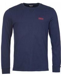 Barbour - Intl. Long Sleeved Logo T-shirt - Lyst