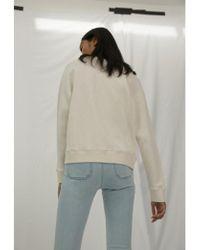 M.i.h Jeans - Artie Sweatshirt In Stone - Lyst