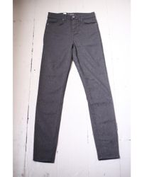 J.Lindeberg - Grete High Scale Textured Skinny Jeans - Lyst