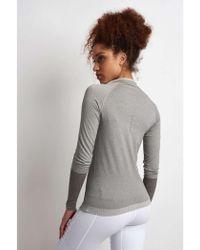 Falke - Full Zip Long-sleeved Top - Lyst