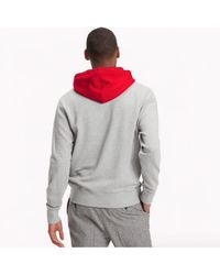 Tommy Hilfiger - Relaxed Contrast Detailed Hoody - Lyst
