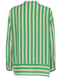 Custommade• - Reysa Silk Shirt - Lyst