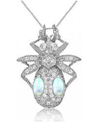 V Jewellery - Jewel Beetle Pendant - Lyst