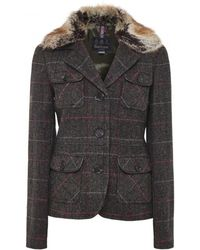 Barbour - Ettrick Tartan Tailored Jacket - Lyst
