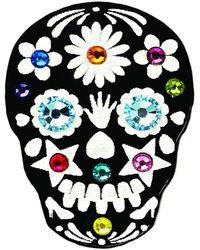 Tatty Devine - Skull Ring - Lyst