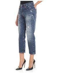 DIESEL - Straight Jeans In Blue - Lyst