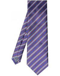 Jules B - Stripe Tie - Lyst