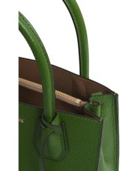 9c62e252987 MICHAEL Michael Kors Studio Mercer Medium Messenger Bag in Green - Lyst