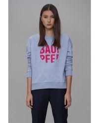 Baum und Pferdgarten - Jaala Grey Melange Sweatshirt - Lyst
