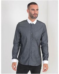 Gibson - Penny Rounded Collar Shirt - Lyst