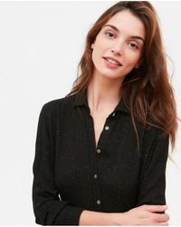 Hartford - Rilke Lurex Wool Dress - Lyst