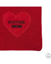Boutique Moschino - Scarves In Red - Lyst