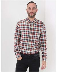 Gibson - Checked Patterned Shirt - Lyst