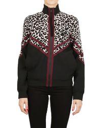 N°21 - Leopard Print Jacket - Lyst