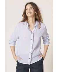 Harris Wilson - Cecile Ruffled Shirt - Lyst
