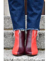 Stine Goya - Koko Multi Red Boots - Lyst