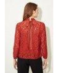 Great Plains - Soft Amber Lace Top - Lyst