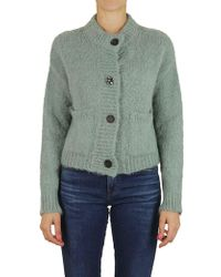 Erika Cavallini Semi Couture - Cardigan In Green - Lyst