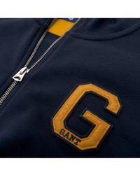 GANT - Graphic Full Zip Cardigan - Lyst