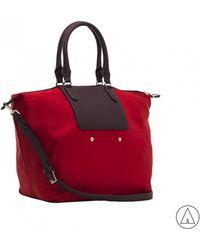 Patrizia Pepe - • Shoulder Bag In Red - Lyst